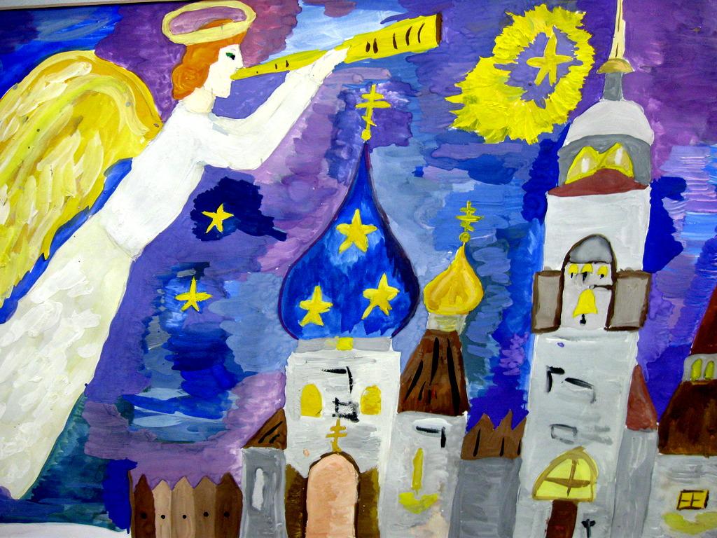 Вифлеемская звезда конкурс детского рисунка
